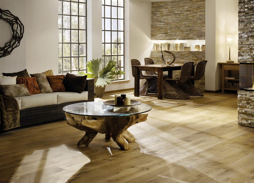 家用装修的瓷砖逐渐被地板代替