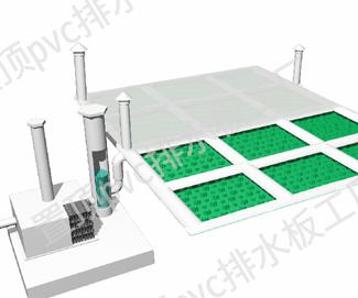 零坡度有组织定向排水系统