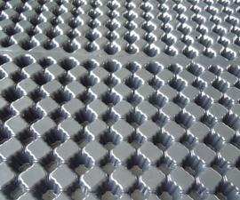 屋顶阳台绿化PVC排水板