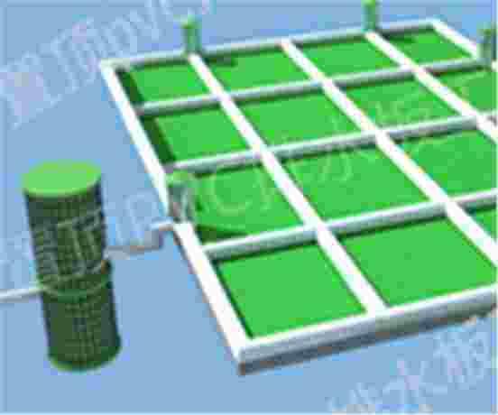 车库顶板网格虹吸排水系统