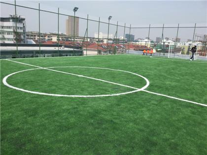 足球场人造草足球场施工方案
